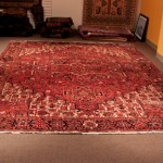 Persian Heriz size  10'  x  13'