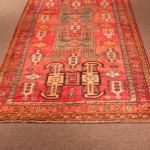 Semi Antique Caucasian Rug size  4' x 6'